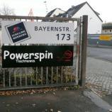 Einfahrt zum Hof, Powerspin Tischtennis Bremen, Bayernstr.